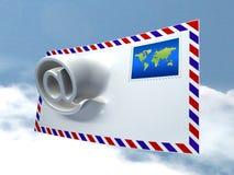 Morphing de courrier Illustration Libre de Droits