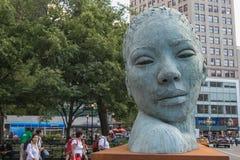 Morphous-Skulptur Lizenzfreies Stockfoto