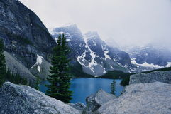 Morraine Lake Alberta,Canada. Royalty Free Stock Images