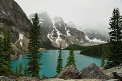 Alpine Morraine Lake,Alberta,Canada Stock Images
