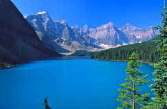 Morraine Lake in Banff Stock Images