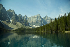 Morraine Lake Stock Images
