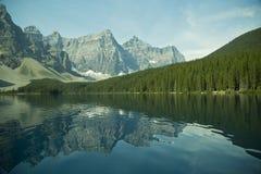 Morraine Lake Stock Photo