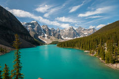 Morraine Lake Stock Photo