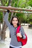 Morral latino hispánico de la muchacha del adolescente Fotos de archivo