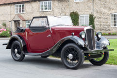 Morris 8 - British Classic - UK Royalty Free Stock Image