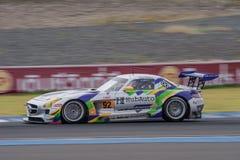 Morris Chen drużyna AAI rasa - HubAuto w azjata Le Mans seriach - Obrazy Stock