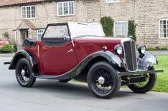 Morris 8 - clássico britânico - Reino Unido Imagem de Stock Royalty Free