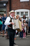 Morris dance organist Stock Photos