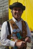 Morris Dancer. In Plymouth Devon Royalty Free Stock Image
