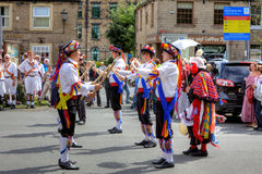 Morris Dancers Royalty Free Stock Photo