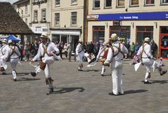 Morris Dancers at Chippenham. Wiltshire. England Stock Image