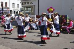 Morris Dancers at Chippenham. Wiltshire. England Stock Images