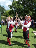 Morris dancers Royalty Free Stock Image