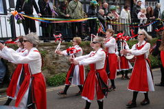 Morris dancers, Hastings Stock Photo