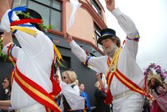 Morris dancers, Hastings Stock Photography