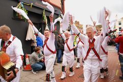 Morris dancers, Hastings Royalty Free Stock Photo