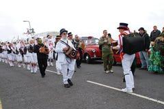 Morris dancers, Hastings Stock Image