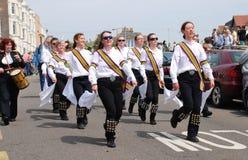 New Esperance Morris dancers, Hastings Stock Image