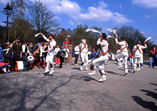Morris dancers, Madeley. Stock Photos