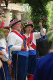 Morris Dancers Royalty Free Stock Images