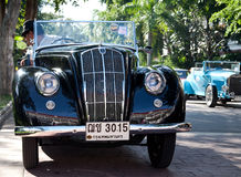 Morris Eight Series E on Vintage Car Parade Royalty Free Stock Photography