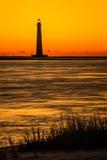Morris Island Lighthouse 2 Arkivbilder