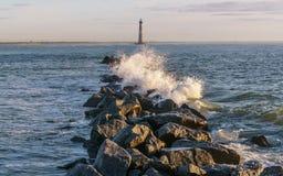 Morris Island Lighthouse Immagini Stock