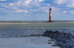 Morris Island Lighthouse Charleston South Carolina Stock Photos