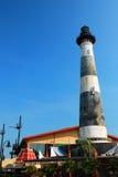 Morris Island Lighthouse Replica stock fotografie