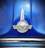 Morris logo. Closeup logo of a Morris vintage car -  a popular 1930s British commercial vehicles produced by Morris Commercial Cars Ltd founded by William Morris Royalty Free Stock Photo