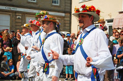 Morris men dancers Stock Photo