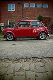 Classic british car Morris Mini Cooper Royalty Free Stock Photos