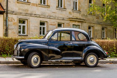 Morris Minor 1000 Lizenzfreie Stockbilder
