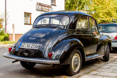 Morris Minor 1000 Lizenzfreies Stockfoto