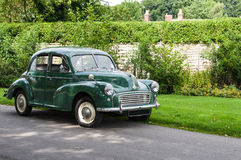 Morris Minor - clássico britânico - Reino Unido Fotografia de Stock Royalty Free
