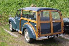 Morris Minor clássico 1000, Holanda Foto de Stock