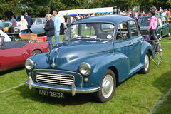 Morris Minor 1000 classic vintage car Royalty Free Stock Photography