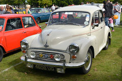 Morris Minor 1000 classic vintage car Stock Photography