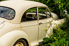 Morris Minor 1000. Old fashioned Morris Minor 1000 in need of restoration Royalty Free Stock Photography