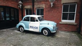 Morris Minor Police Car Royalty Free Stock Photography