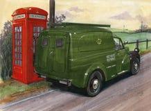Morris Minor Van (GPO) illustration stock