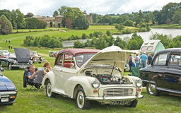 Morris Open Tourer at Ripley Castle. Stock Photo