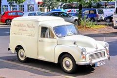 Morris Quarter Ton Van Foto de archivo libre de regalías