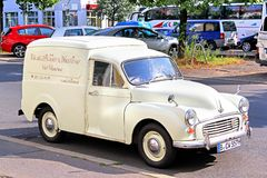Morris Quarter Ton Van Royalty Free Stock Photo