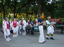 Morris tancerze przy parkiem w Minnesota obrazy royalty free