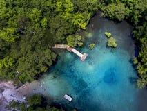 Morrison jaillit antenne - l'eau claire Image stock