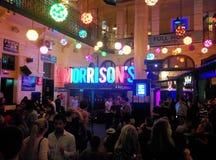 Morrisons Budapest-Nachtleben der Musik-Kneipen-2 lizenzfreie stockfotografie