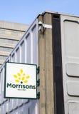 Morrisons supermarket Royaltyfri Bild
