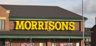 Morrisons supermarket Arkivfoto